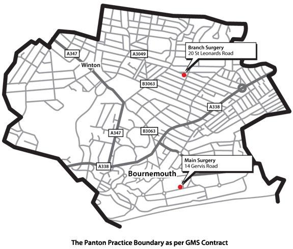 Practice Boundary Map
